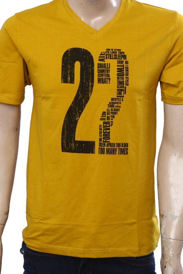 db0cdbd9 Gold color T-shirt - LeLe Yar